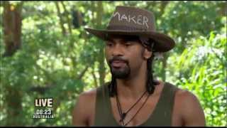 David Haye Leaves I'm a Celebrity Get Me Out of Here 2012