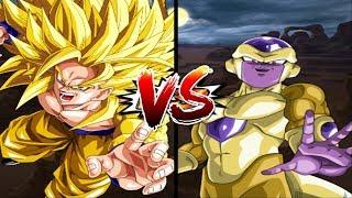 Vàng Đấu Với Vàng Golden Goku VS Golden Frieza - Dragon Ball Super Song Đấu