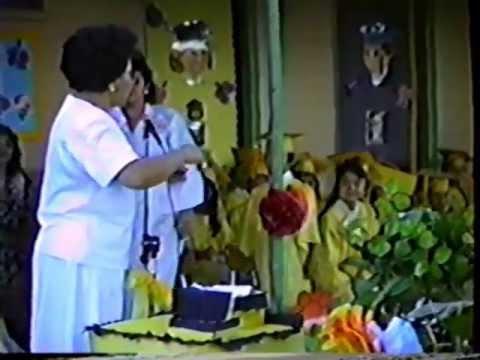 JFK Kindergarten Graduation - 1990