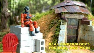 Mini Materials | TINY BUNKER + Real Little Bricks, Blocks, and Lumber Review