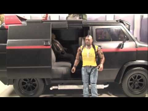 A-Team Movie Electronic A-Team Van Vehicle Toy Review