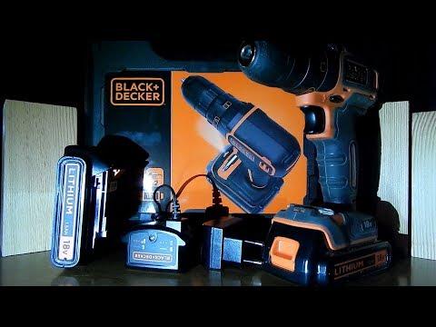 black et decker bdcdc18kb-qw - 0 - Avis sur la perceuse visseuse Black et Decker BDCDC18KB-QW