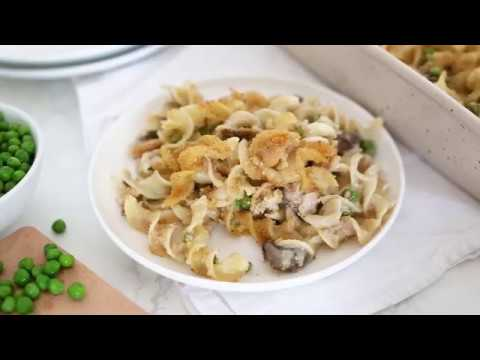 Skinny Tuna Noodle Casserole Recipe