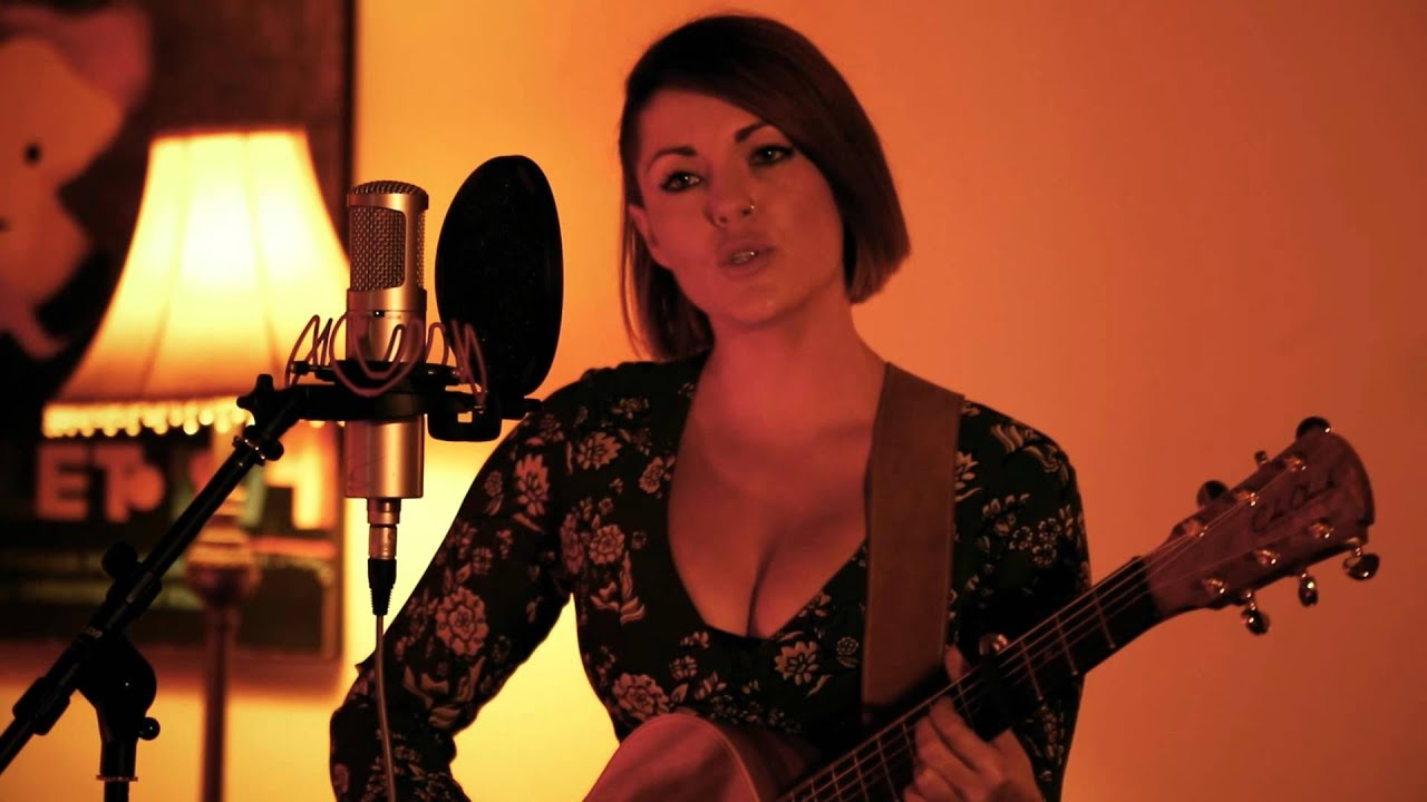 Chandelier - Sia ( Kylie Jane Acoustic Cover ) - YouTube