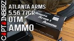 Atlanta Arms 77gr OTM BTHP 5.56 Ammunition