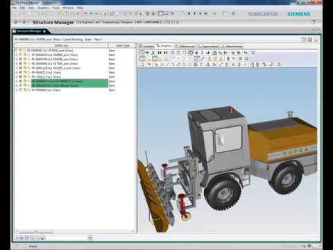 SolidWorks Multi CAD Management Demo