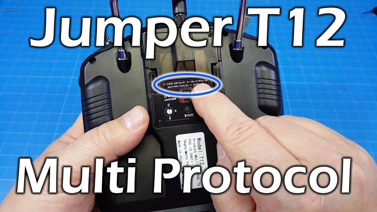 Jumper T12 Plus - Multi Protocol Radio