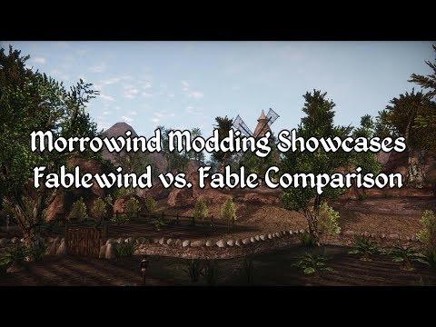 Morrowind Modding Showcases - Fable vs Fablewind Comparison
