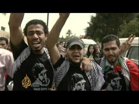 Gaza bids farewell to slain Arrigoni