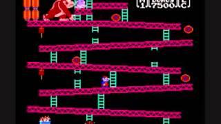 Donkey Kong NES Gameplay (up to level 22)