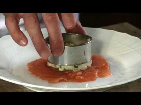 Crushed Albert Bartlett Potatoes With Smoked Salmon