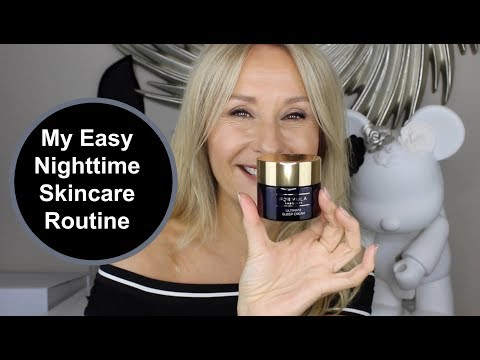 My Nighttime Skincare Routine – Nadine Baggott #AD