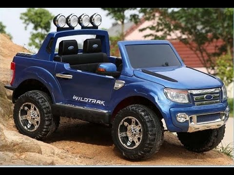 ford ranger pickup 2 sitzer neu kinderauto 12v 2 4 ghz rc. Black Bedroom Furniture Sets. Home Design Ideas