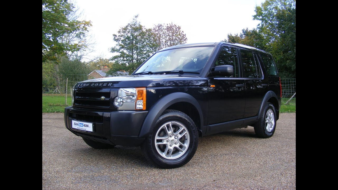 2007 land rover discovery 3 2 7 tdv6 gs for sale in kent youtube. Black Bedroom Furniture Sets. Home Design Ideas