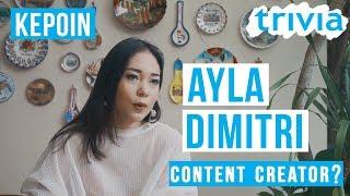Ayla Dimitri, Content Creator itu apa sih?