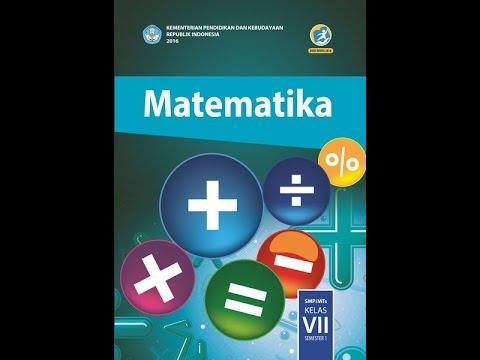 Jawaban Soal Matematika Kelas 7 Kurikulum 2013 Ayo Kita Berlatih 2 4 Nomor 1 2 Uraian Youtube