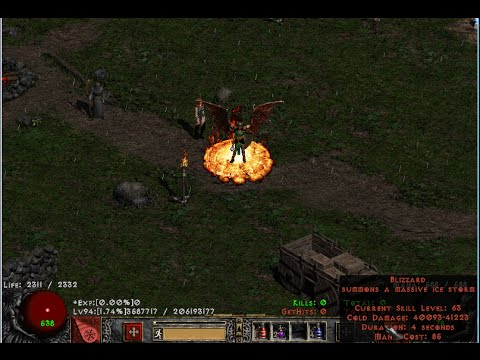 Join D2VN And Sting hack map - Huong dan lam quen game diablo2-vn (Vietnamese)