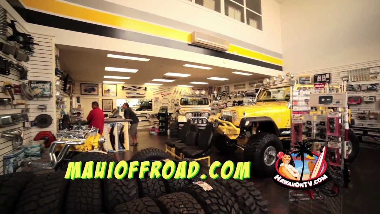 Maui Off Road >> Maui Off Road Center Oahu Hawaii Youtube