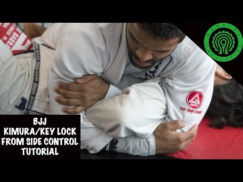 BJJ Kimura/Key Lock from Side Control Tutorial