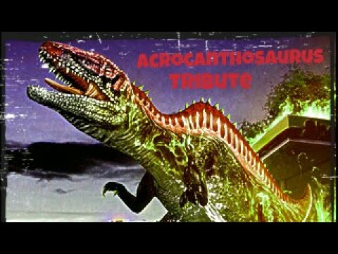 Dinosaur King Acrocanthosaurus Tribute/Time Of Dying