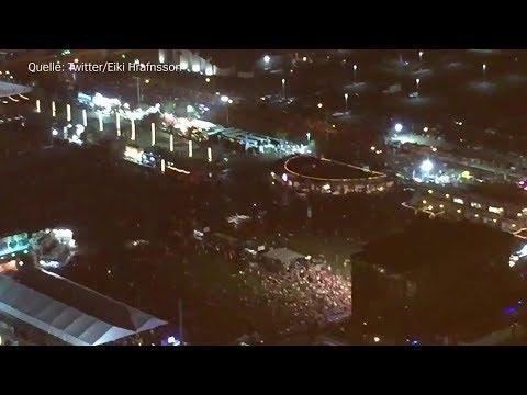 Augenzeugenvideos: Schüsse auf Festivalbesucher in Las Vegas