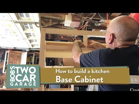 How to build a kitchen base Cabinet