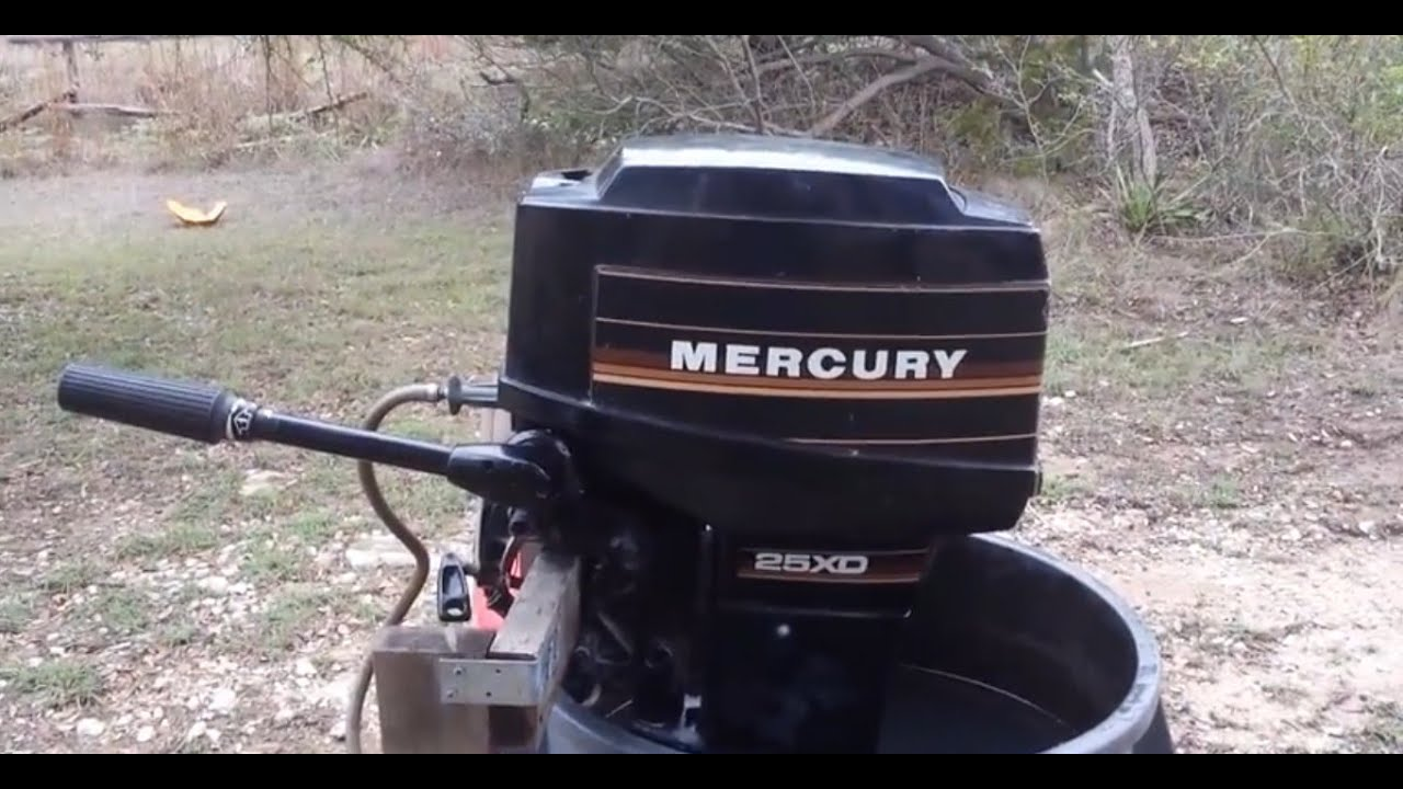 mercury 25xd 25hp outboard motor service overview [ 1280 x 720 Pixel ]