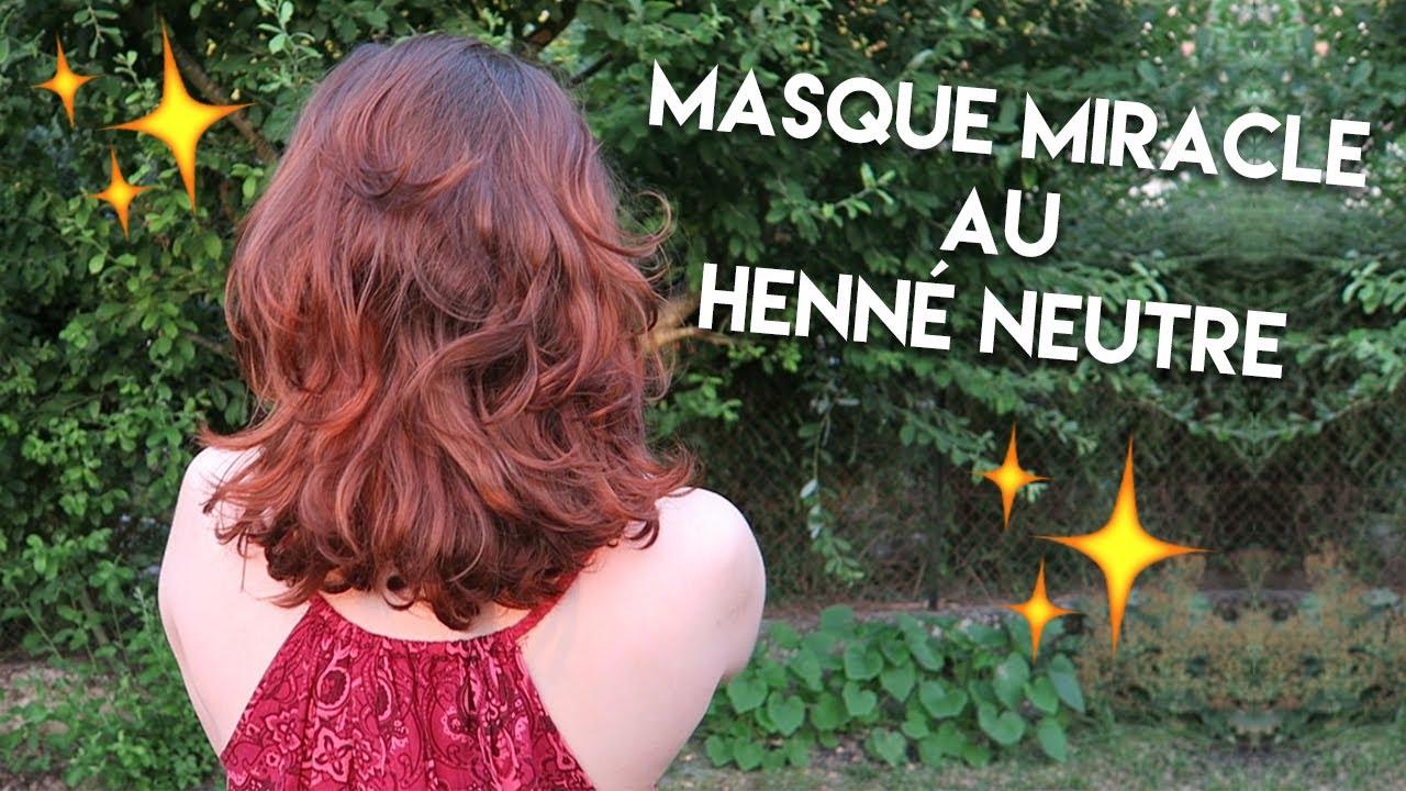 Masques au hennГ© pour la coloration des cheveux