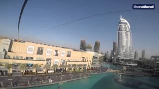Zipping down Dubai's thrilling new XLine - video