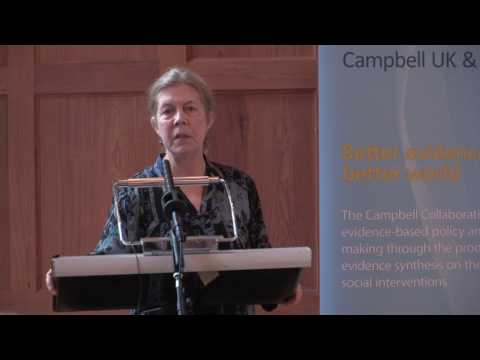 3. Better Evidence - The Value of Campbell Systematic Reviews (07 Jun 2017)