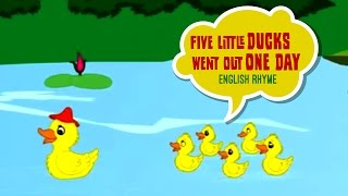 Five Little Ducks Went Out To Play - English Nursery Rhymes with Lyrics