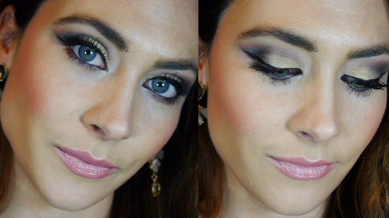 Tutorial Maquillaje Fiesta De Noche Glam Night Out Party Makeup Tutorial - YouTube