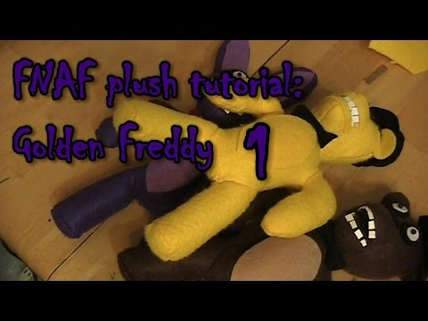 FNAF Golden Freddy Plush tutorial (part 1)