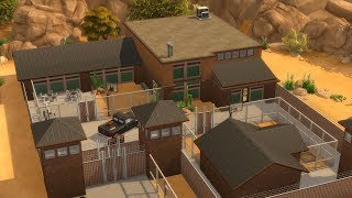 Building a Prison in The Sims 4