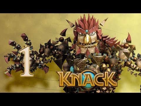 PS4 - Knack - Built out of Relics - E01