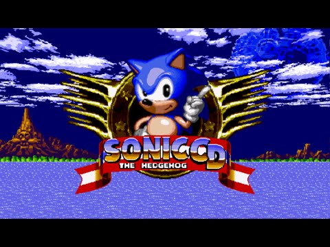 Sonic CD Full Playthrough Sega Genesis CD