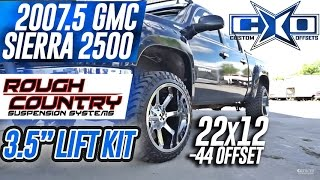 Spotlight - 2007.5 GMC Sierra 1500, Level/Lift, 22x12s and 33's