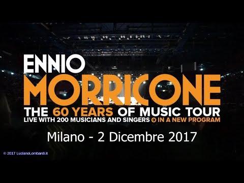 Ennio Morricone 60 years live tour Assago Milano 2017