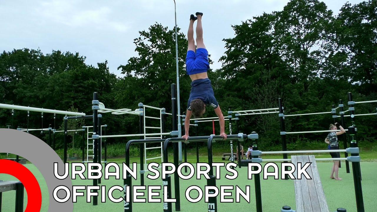 Urban Sports park Eindhoven paradijs voor sporters