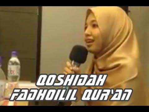 Membuat Hati Sejuk Mendengar Qhosidah Fadhoilil-Qur'an Karya Abu  Ayman Ahsin Sakho Muhammad