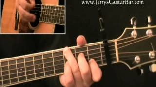 How To Play Jerry Jeff Walker Mr Bojangles