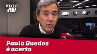 'Superministério' comandado por Paulo Guedes é acerto | Marco Antonio Villa