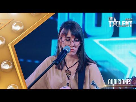 MELANIE cantó CHAU de NTVG pero los nervios no la ayudaron