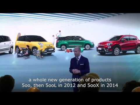 New Fiat 500L | Press conference ft. Luca Napolitano | Fiat