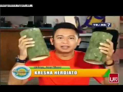 Proses Pembuatan Tusuk Sate di Malang - Liputan Trans 7