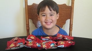 Throwback Toy: Angry Birds Mashems Series 1 Blind bag Opening!!