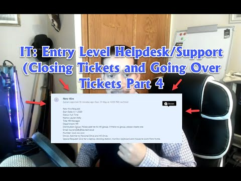IT: Entry Level Helpdesk/Desktop Support (Troubleshooting Real Life Tickets Part4)