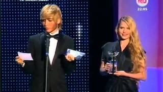 Сергей Зверев на премии Ru tv 2013 ржака!