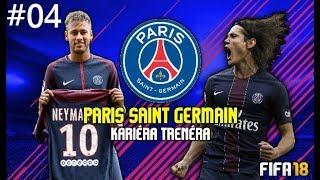 FIFA 18 CZ | Kariéra za PSG #04| Liga Mistrů začíná !!!