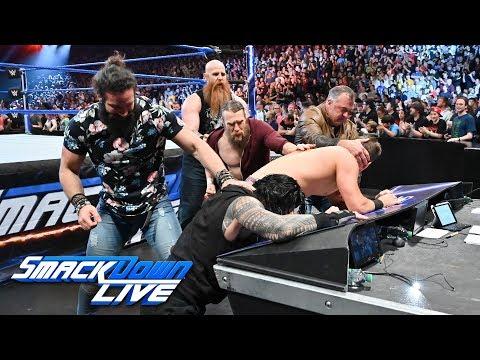 Shane McMahon & Elias trap Roman Reigns & The Miz: SmackDown LIVE, May 14, 2019